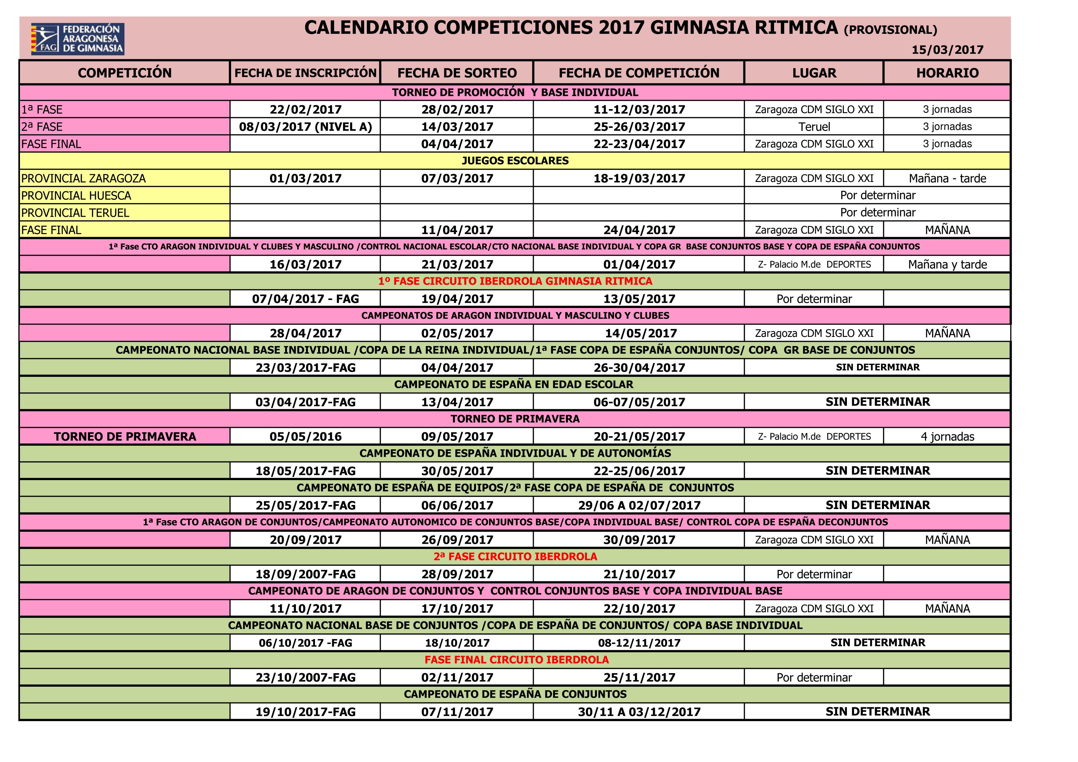 CALENDARIO GR PROVISIONAL 2017  actualizado 06 Febrero-2017.xls