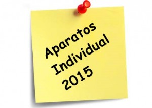 Aparatos Individual 2015