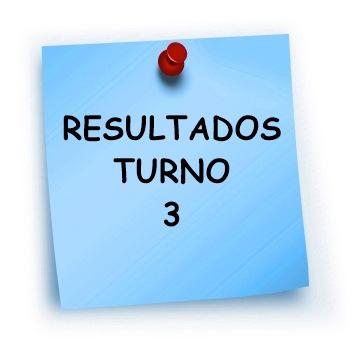 RESULTADOS TURNO 3