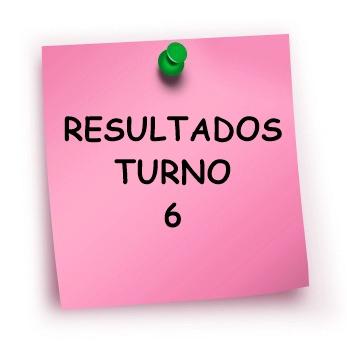 RESULTADOS TURNO 6